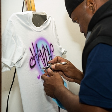 bat-mitzvah-party activities-personalized-tshirts