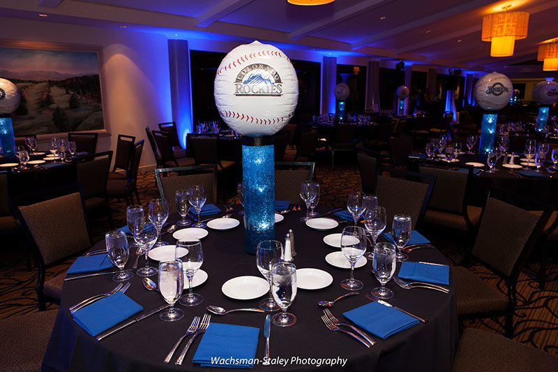 traditional seudat mitzvah baseball theme
